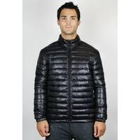 Men's Stand Collar Puffer Jacket (JK-010)