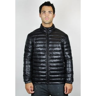 Men's Stand Collar Puffer Jacket (JK-010)