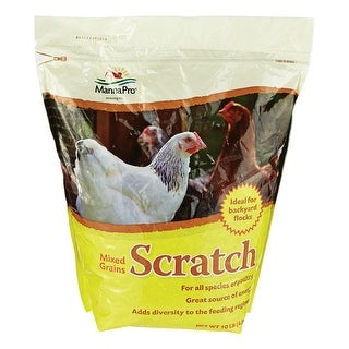 Manna Pro 58559 Scratch Mixed Grains Assorted Species Bird Food, 10 lb.