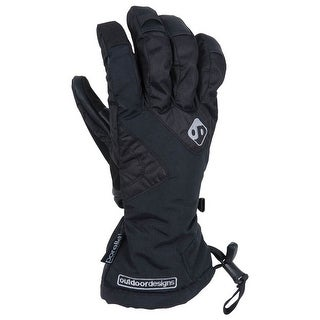 Outdoor Designs Summit Glove Black Xs Ds-368-Blk-Xs