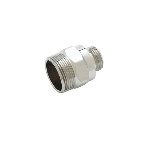 """T and S Brass B-0412 1"""" Hex Rigid to Swivel Adapter -"""