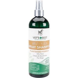 - Vet's Best Anti-Flea Easy Spray Shampoo 16Oz