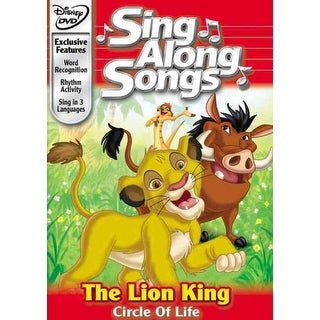 Disney's Sing Along Songs - The Lion King: Circle of Life - DVD
