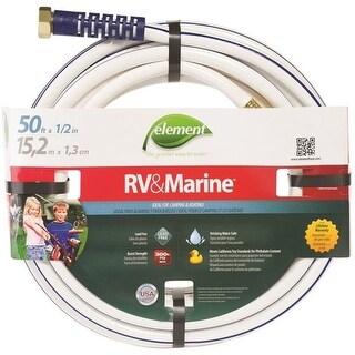 "Swan ELMRV12050 Marine & Camper Hose, 1/2"" x 50', White"