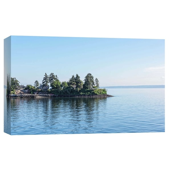 """PTM Images 9-102218 PTM Canvas Collection 8"""" x 10"""" - """"Set For Adventure"""" Giclee Lakes and Rivers Art Print on Canvas"""