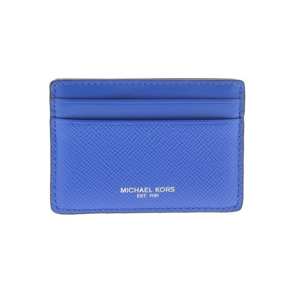 half off 466f2 d28e3 Michael Kors Mens Harrison Card Case Leather Identity Protection - O/S