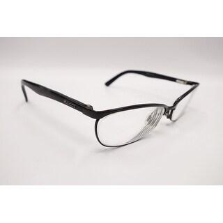 Gucci Womens Eyeglasses 2884 65Z/15 Metal Oval Black Frames