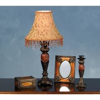 Meyda Tiffany 69538 Lamp Sets from the Amherst Collection - ANTIQUE BRASS