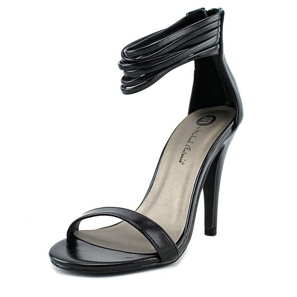 Michael Antonio Regel Women Black Sandals