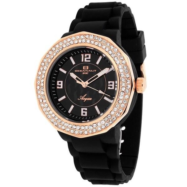 Oceanaut Women's Acqua OC0222 Black Dial watch