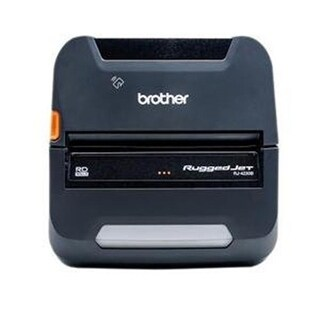 Brother RJ-4230BL 4 in. Ruggedjet Mobile Printer with Battery