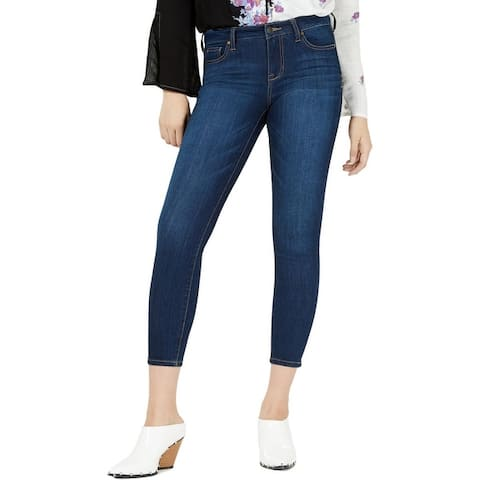 Celebrity Pink Womens Juniors Janie Skinny Jeans Mid-Rise Light Wash