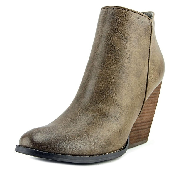Very Volatile Tana Women Round Toe Synthetic Bootie