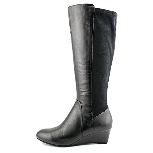 Giani Bernini Womens Deanaa WC Leather Almond Toe Knee High Fashion Boots