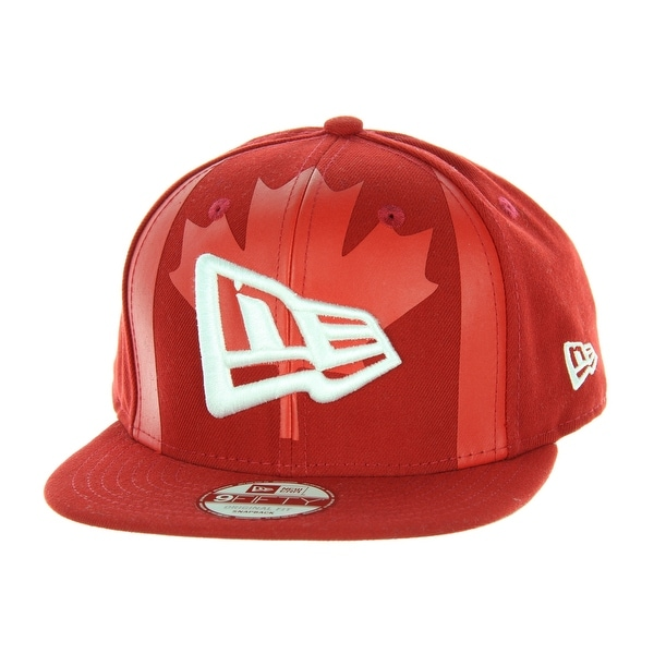 88199373cd4 Shop New Era Canada Republic Branded Flag Front 9FIFTY Original Fit Snapback  Hat - Free Shipping On Orders Over  45 - Overstock - 22800083