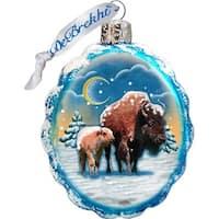 GDeBrekht 771024 Buffalo Glass Ornament