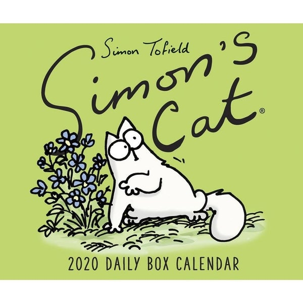 Shop Calendars Simons Cat Page A Day Desk Calendar With Built In