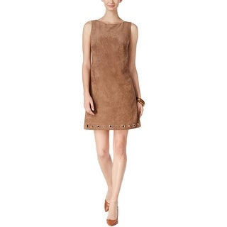 Jessica Howard Womens Missy Wear to Work Dress Faux Suede Grommet (More options available)