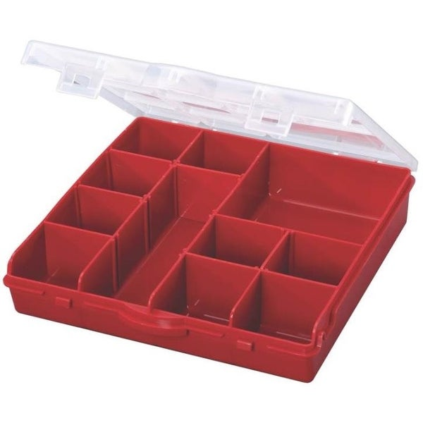 Stack-On SBR-13 Compartment Storage Box With Removable Dividers
