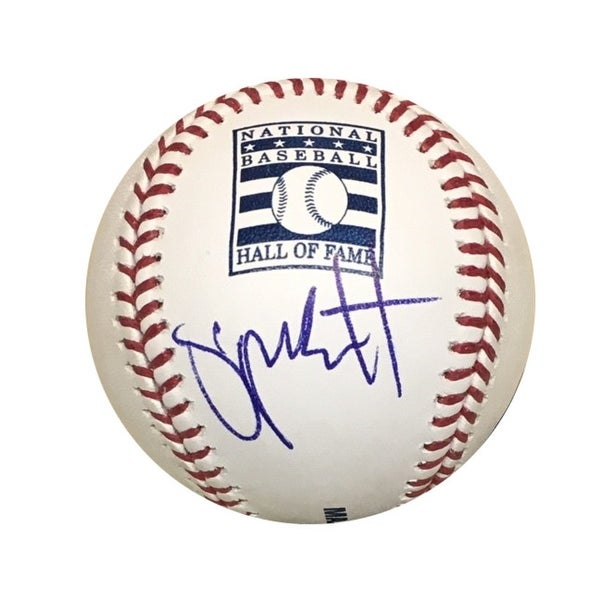 60f0171f59c Shop George Brett Kansas City Royals Autographed Hall of Fame HOF Signed  Baseball JSA COA With UV Displa - Free Shipping Today - Overstock - 25684078