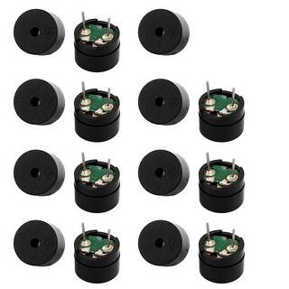 15pcs DC 5V 2 Terminals High Decibel Passive Stereo Electronic Buzzer 12 x 8.5mm