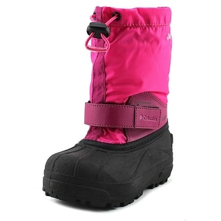 Columbia Powderbug Forty Print Round Toe Synthetic Snow Boot