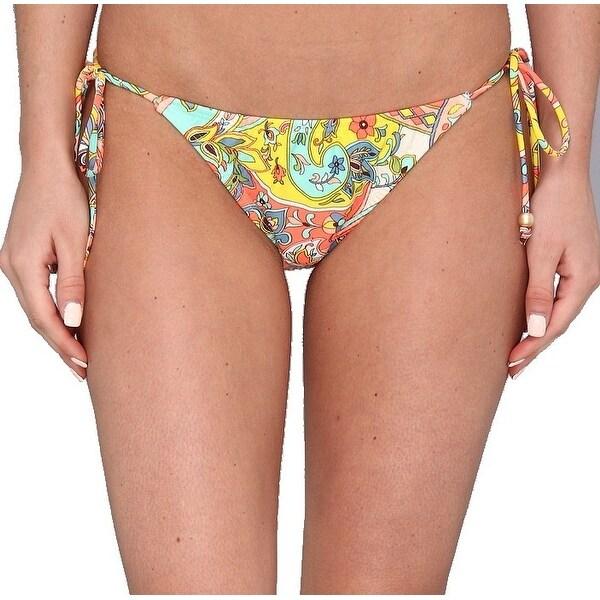 Shoshanna Yellow Women's Size Small S Bikini Bottom Swimwear