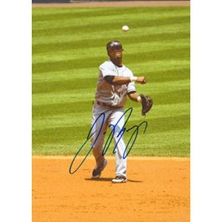 Jose Reyes New York Mets Autographed 85x11 Photo This item comes with a certificate of authenticity