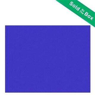 Bazic 5056 22 x 28 in. Fluorescent Blue Poster Board Case of 25
