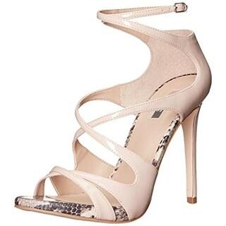 Guess Womens Ablane Ankle Strap Platform Heels