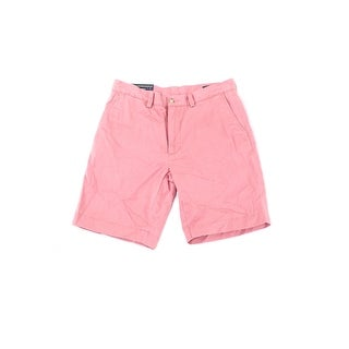 Polo Ralph Lauren NEW Coral Pink Men's 30 Flat-Front Chino Shorts