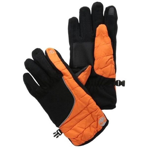 Timberland Mens Midweight Commuter Winter Gloves Fleece Touch Screen