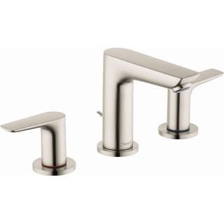 Hansgrohe 71733  Talis E 1.2 GPM Widespread Bathroom Faucet with QuickClean, ComfortZone and EcoRight Technology