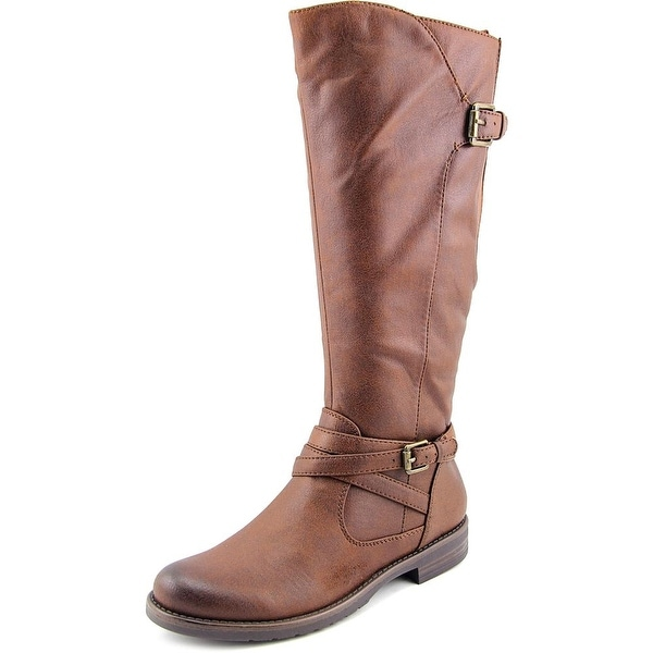 Baretraps Corrie Round Toe Synthetic Knee High Boot
