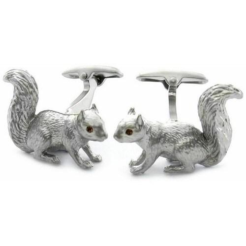 Squirrel Cufflinks Animal