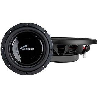 "Audiopipe 10"" 400-Watt 2x4-Ohm Shallow Mount Subwoofer"