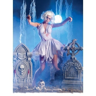 Sexy Iconic Zombie Dress Costume Adult Large 12-14,Medium 8-10,Small 4-6