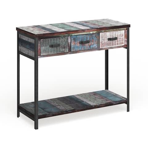 Carbon Loft Scott Wood Console Table
