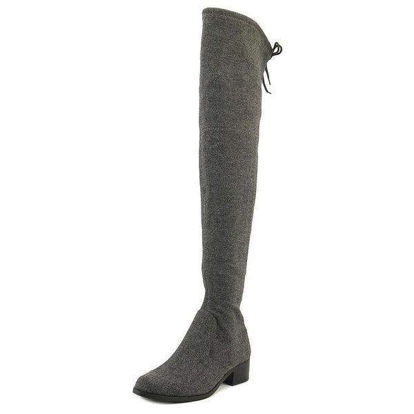 Charles By Charles David Gunter Women Synthetic Gray Over the Knee Boot