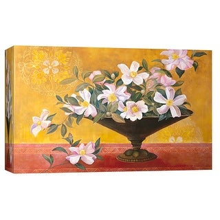 "PTM Images 9-102043  PTM Canvas Collection 8"" x 10"" - ""Magnolia Tapestry"" Giclee Magnolias Art Print on Canvas"