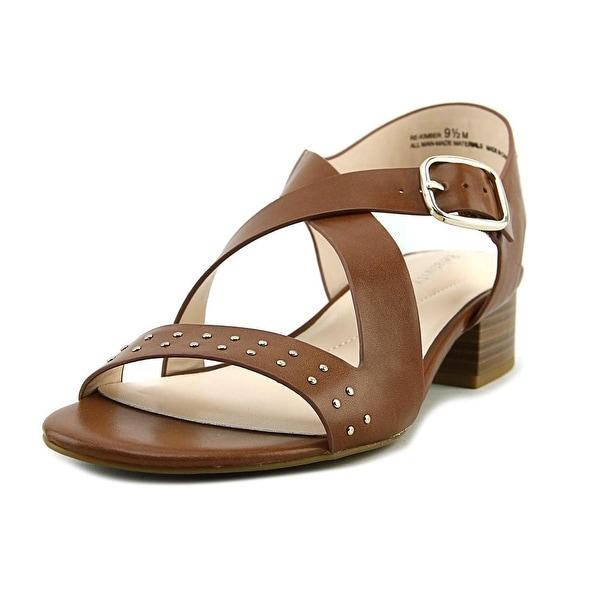 Relativity Kimber Women Open Toe Synthetic Brown Sandals