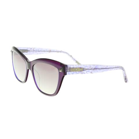 Guess by Marciano GM0741 83C Violet Cat Eye Sunglasses - 56-17-140