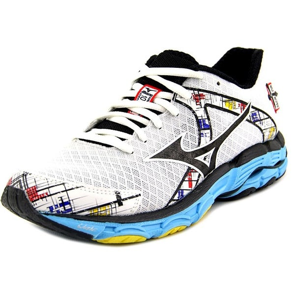 Mizuno Wave Inspire 10 White/Black/Blue Running Shoes