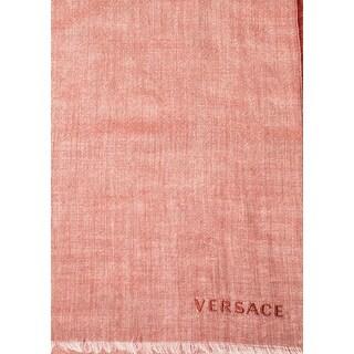 Versace Women's Cashmere Alpaca Blend Scarf Red