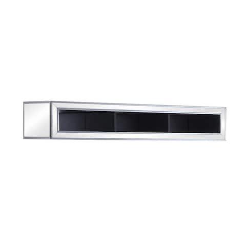 Black Titanium and Silver 3-compartment Bridge