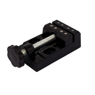 55mm Jaw Opening Aluminium Alloy 8 Holes Bench Table Clamp Vise Vice Tool