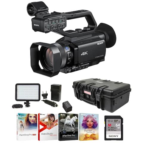 """Sony HXRNX80 Compact 1"""" NXCAM Camcorder (1.0-type) Professional Bundle"""
