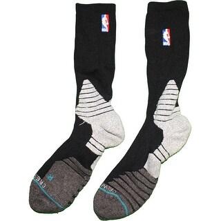 Thaddeus Young Socks Brooklyn Nets 201516 Game Used 30 Black Socks 1030