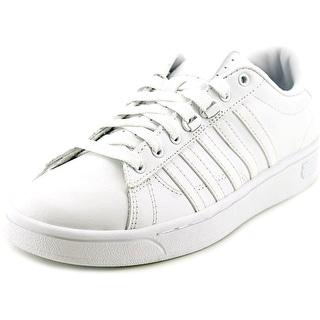 K-Swiss Hoke CMF Round Toe Leather Tennis Shoe