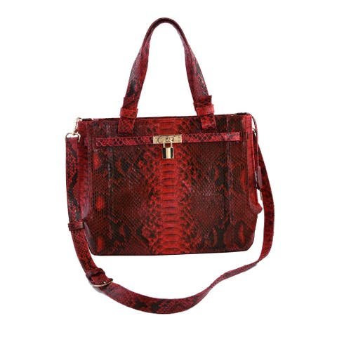 Shop LC The Pelle Collection Handmade Genuine Leather Tote Bag